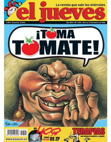 Portada El jueves Tomate