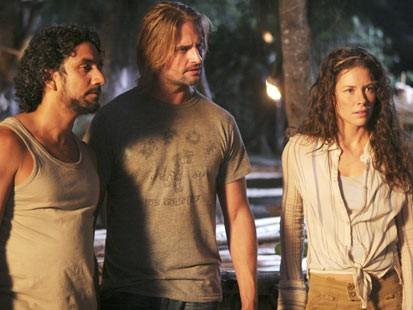 Sayid, Sawyer and Kate