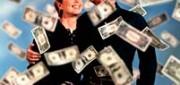 Billetes volando