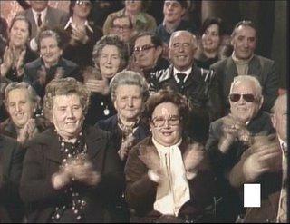 Jubilados en la tele
