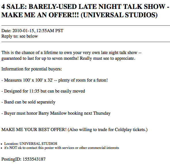 Tonight-Show-Craigslist-Ad