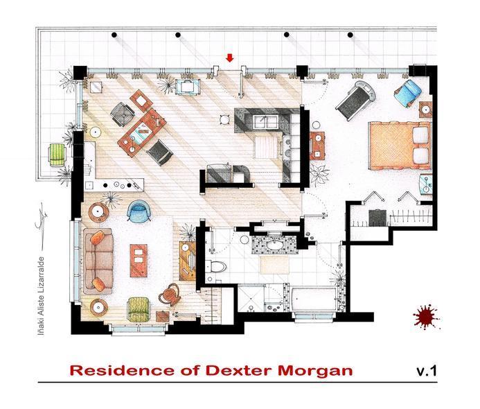 Casas de la tele los mejores planos Chica de la Tele : DexterMorgan from www.chicadelatele.com size 693 x 590 jpeg 61kB